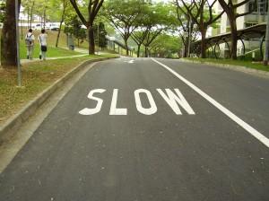 Nanyang_Walk_slow_lettering_20060317
