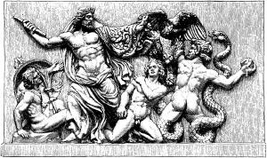 Zeus og gigantene